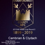 JD FAW Welsh Cup Round 2